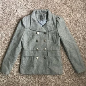 Forever 21 gray pea coat